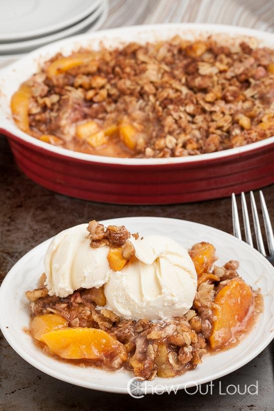 Peach crisp 2