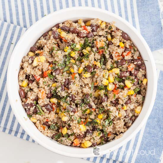 Tex Mex quinoa 2
