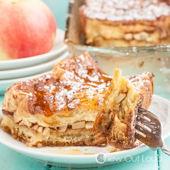 apple french toast bake, brunch recipes