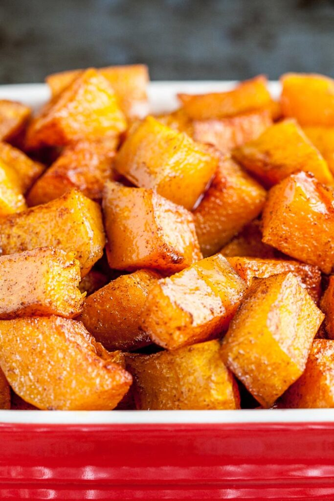 Roasted Butternut Squash Close Up