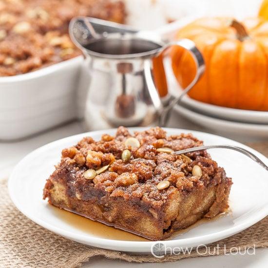 Pumpkin French Toast Casserole 5