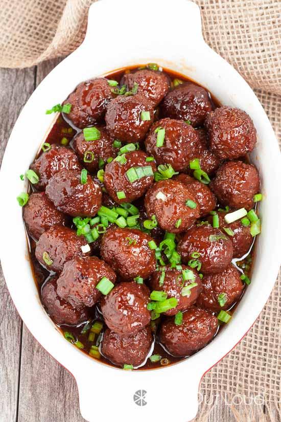 3 Ingredient Crock Pot Meatballs 3
