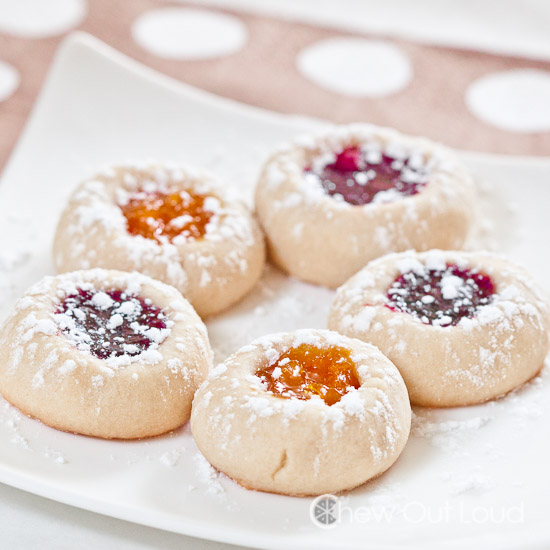 Buttery Jam Thumbprint Cookies 3