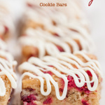 Chewy White Chocolate Cranberry Bars 3