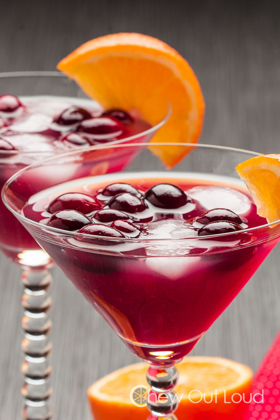 Cranberry Orange Cocktail