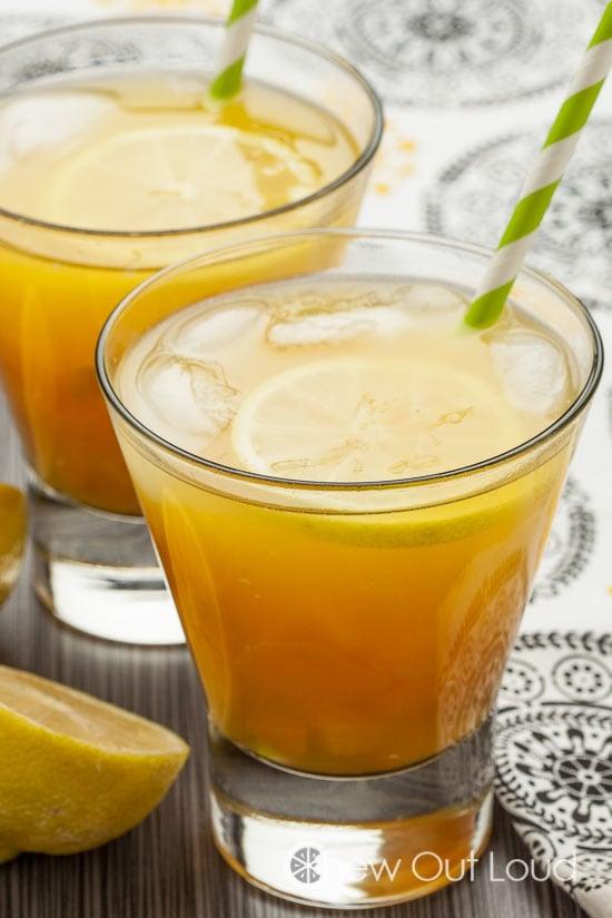 Mango Sour cocktail