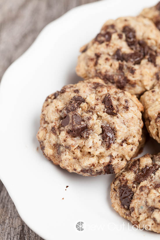 Thick Chewy Dark Chocolate Cookies 3
