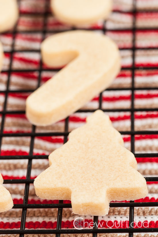 Perfect Vanilla Almond Cut Out Cookies Chew Out Loud