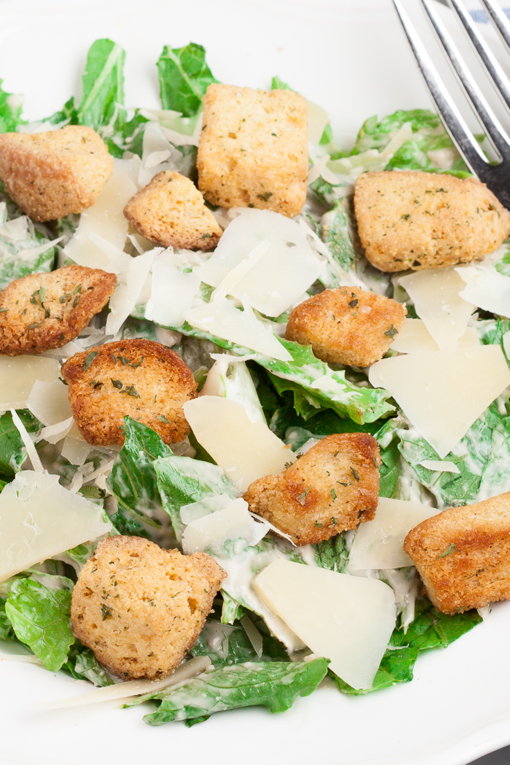 best caesar salad recipe, caesar salad dressing