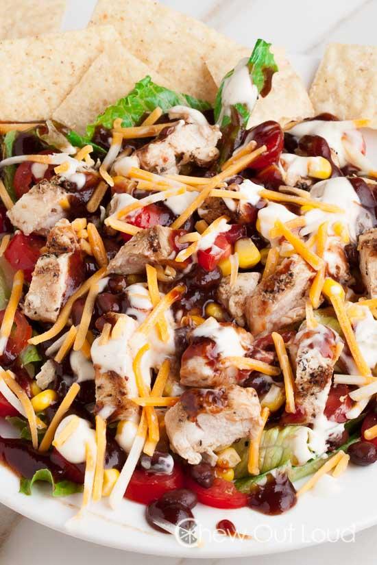 BBQ Ranch chicken Salad 2