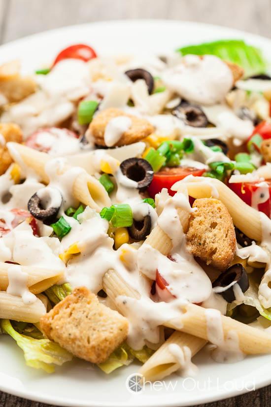 Caesar Pasta Salad 3