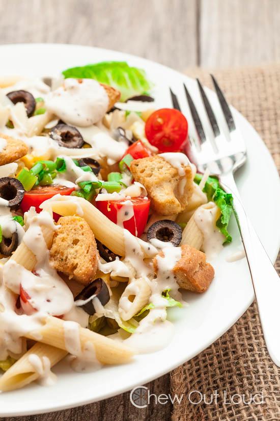 Caesar Pasta Salad 4