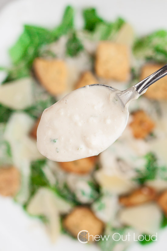 Creamy Caesar Salad, best caesar salad dressing recipe, caesar salad recipe