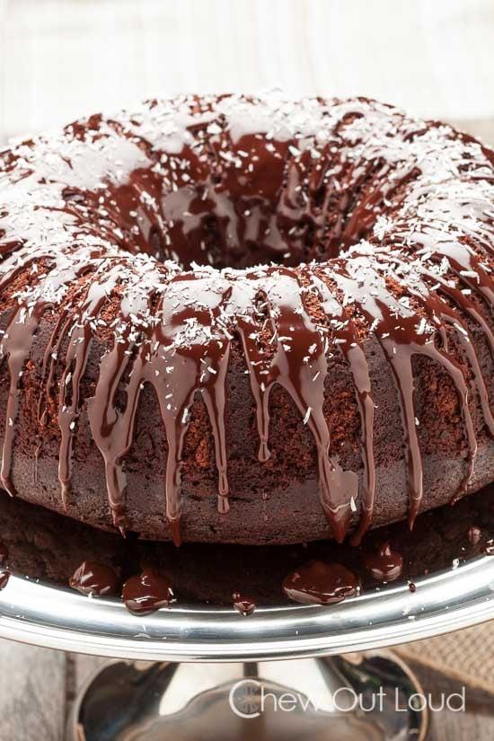 Chocolate Cognac Cake 4