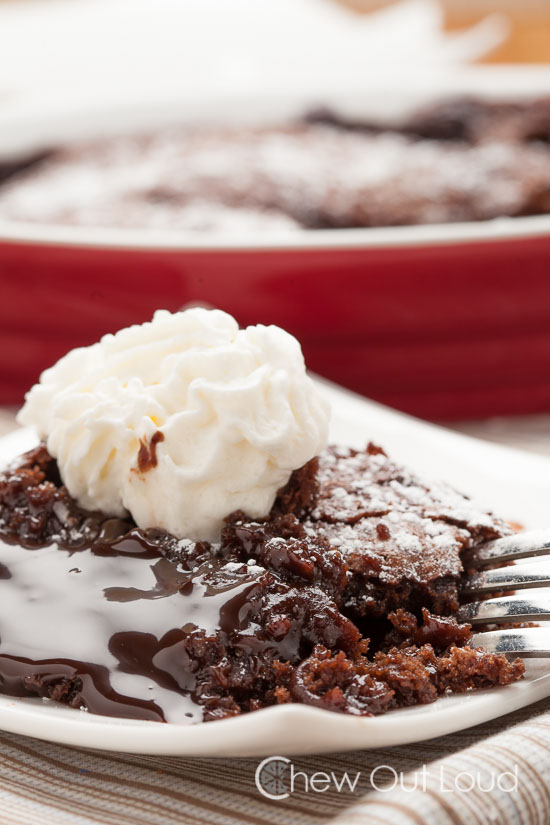 Moldten chocolate pudding cake 3