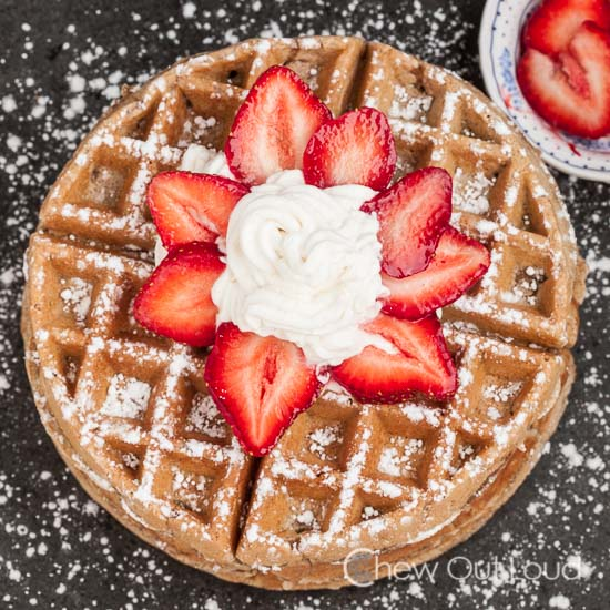 Wheat Waffles, brunch recipes, homemade waffles, waffle recipe