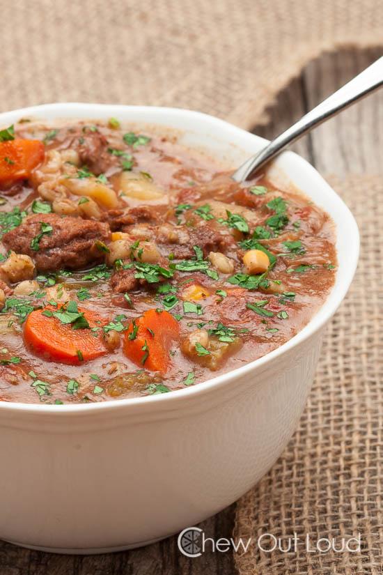 beef veg barley stew