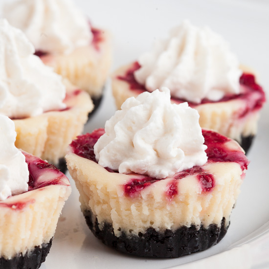 White Chocolate Raspberry Cheesecake Bites Chew Out Loud