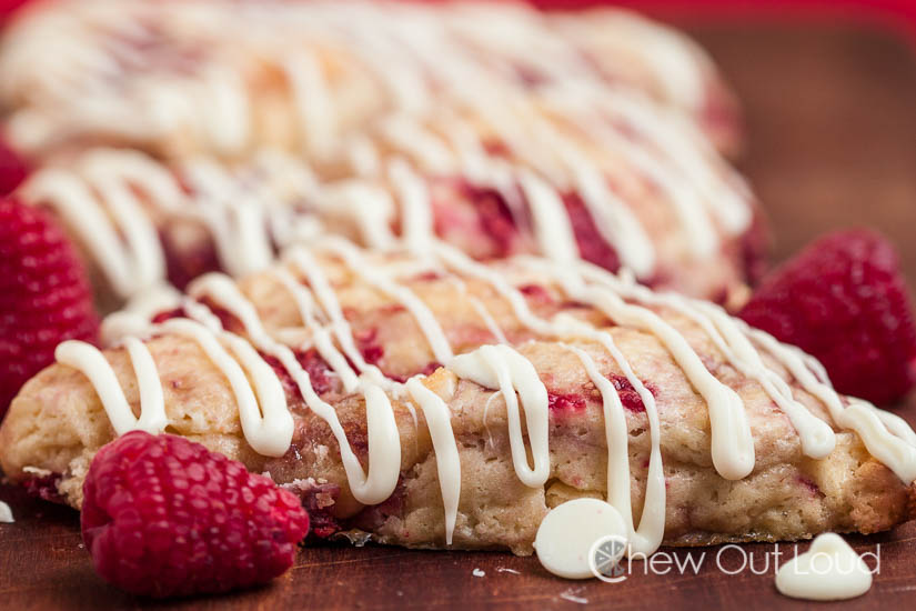 white chocolate raspberry scones 2
