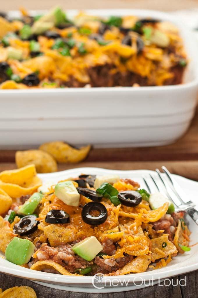 Healthy Taco Casserole 2
