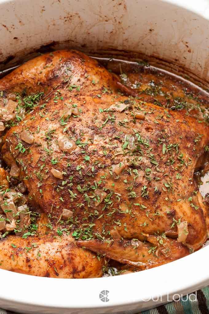 Slow Cooker Roast Chicken 4