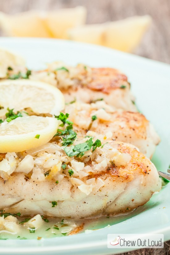 Fish Lemon Butter Sauce 3