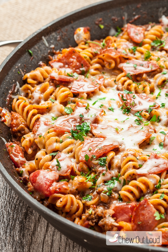 One Pot Pizza Pasta 2