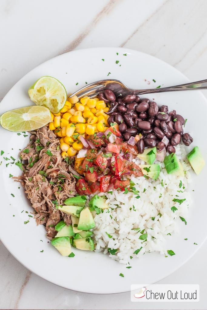 carnitas burrito bowl 4
