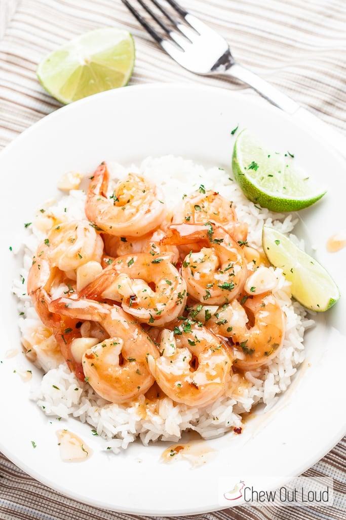 honey lime shrimp sriracha  4