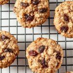 oatmeal raisin cookies, chewy oatmeal cookies