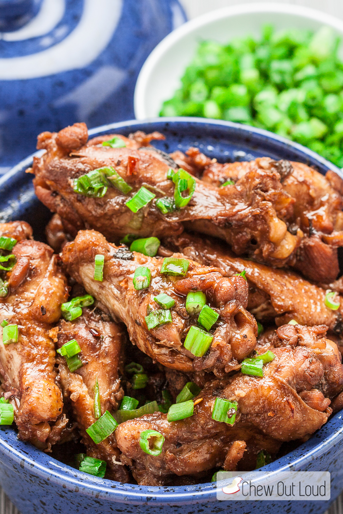 Asian Braised Chicken Wings 3