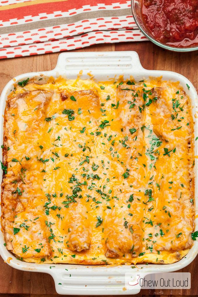 Breakfast Enchilada Bake 3