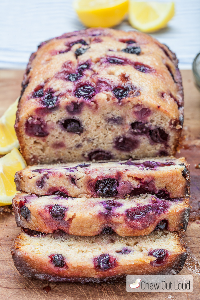 blueberry lemon bread 4