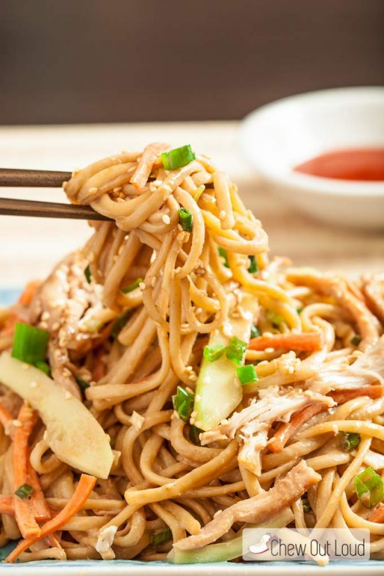 asian cold sesame noodles