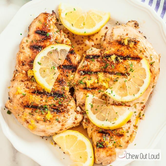 Lemon Dijon Grilled Chicken 2