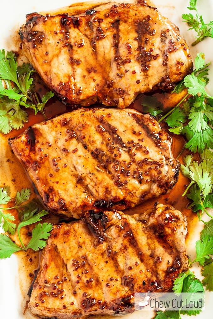 honey-mustard-grilled-pork-chops