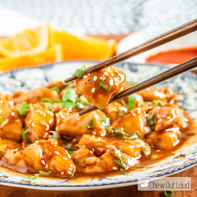 30 Min Skinny Orange Chicken 3