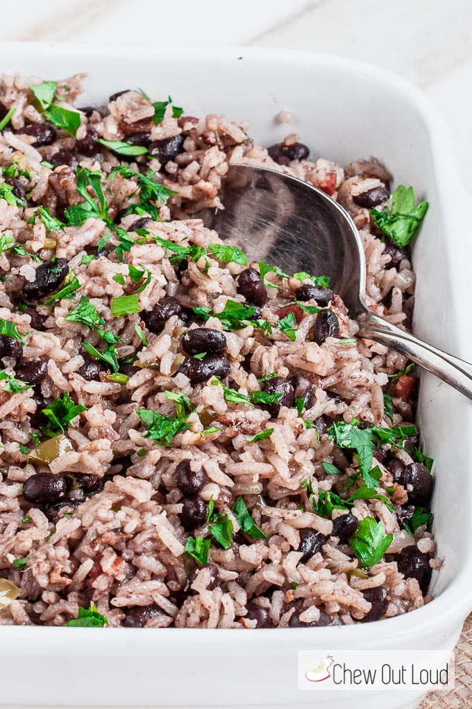 Cuban rice and beans recipe chew out loud cuban rice 4 forumfinder Gallery