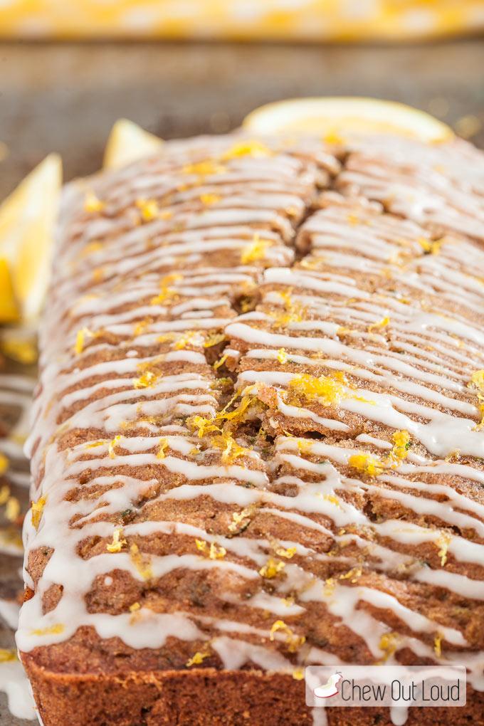 moist lemon zucchini bread  chew out loud