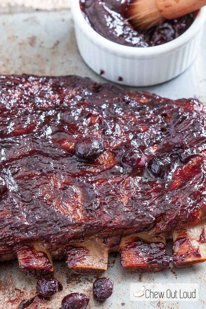 Blueberry-BBQ-Baked-Ribs-2