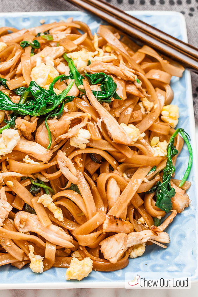 Thai stir fry noodles pad see ew chew out loud pad see ew 2 ccuart Choice Image