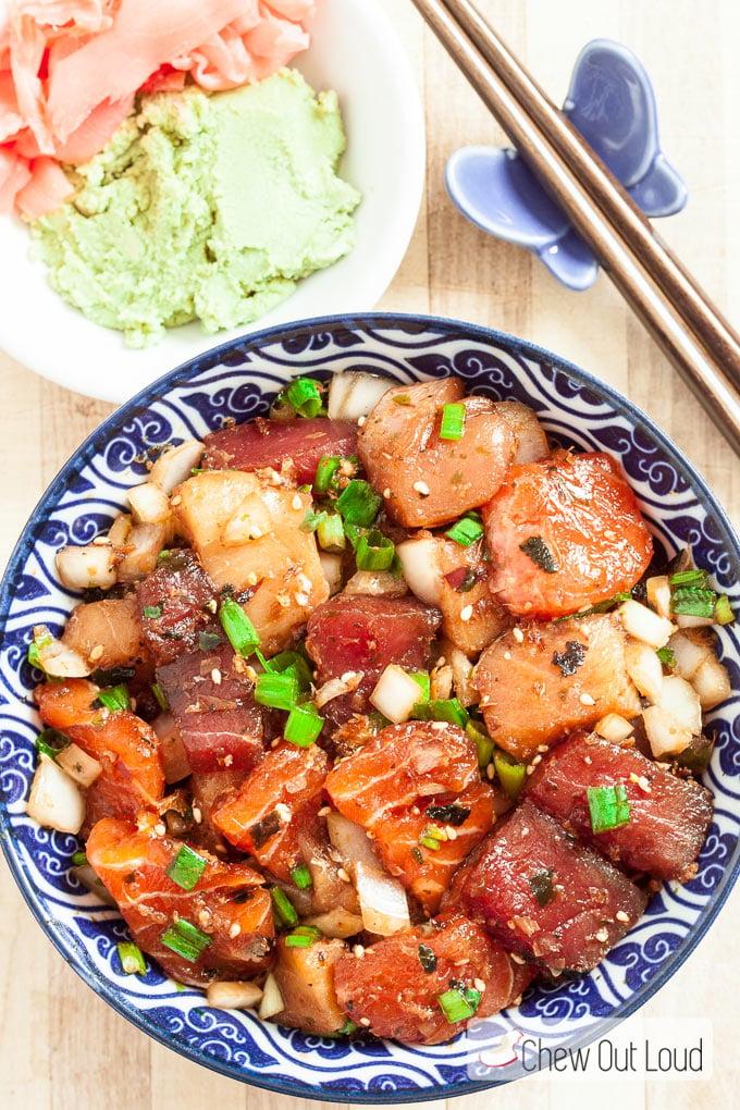 sashimi recipes