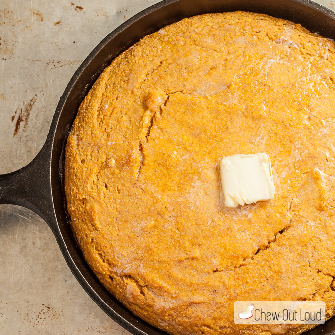 Sweet Pot Cornbread 2
