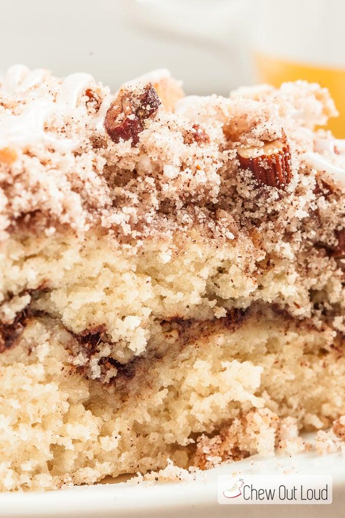 Cinnamon Streusel Yogurt Coffee Cake Chew Out Loud