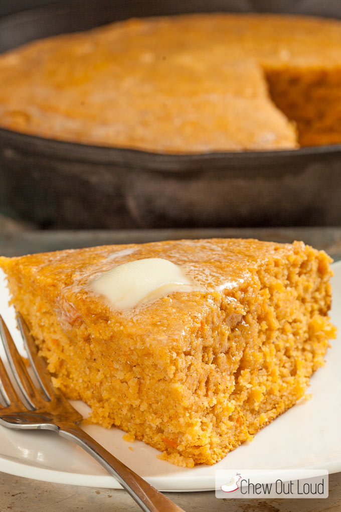 ... sweet potatoes. This Sweet Potato Cornbread is nutritious and a
