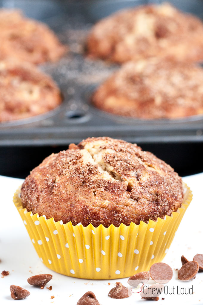 Snickerdodle-muffins
