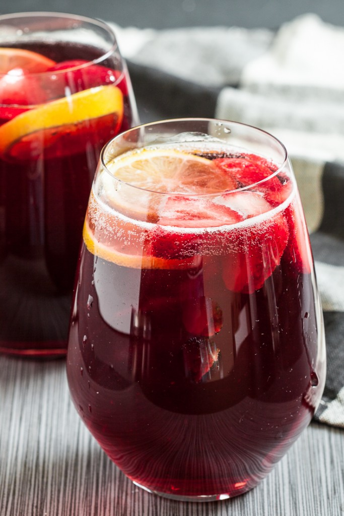 champagne punch, holiday cocktail