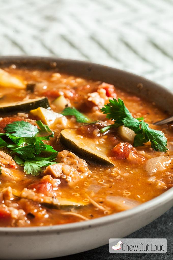 Mexican Chicken Quinoa Stew 3