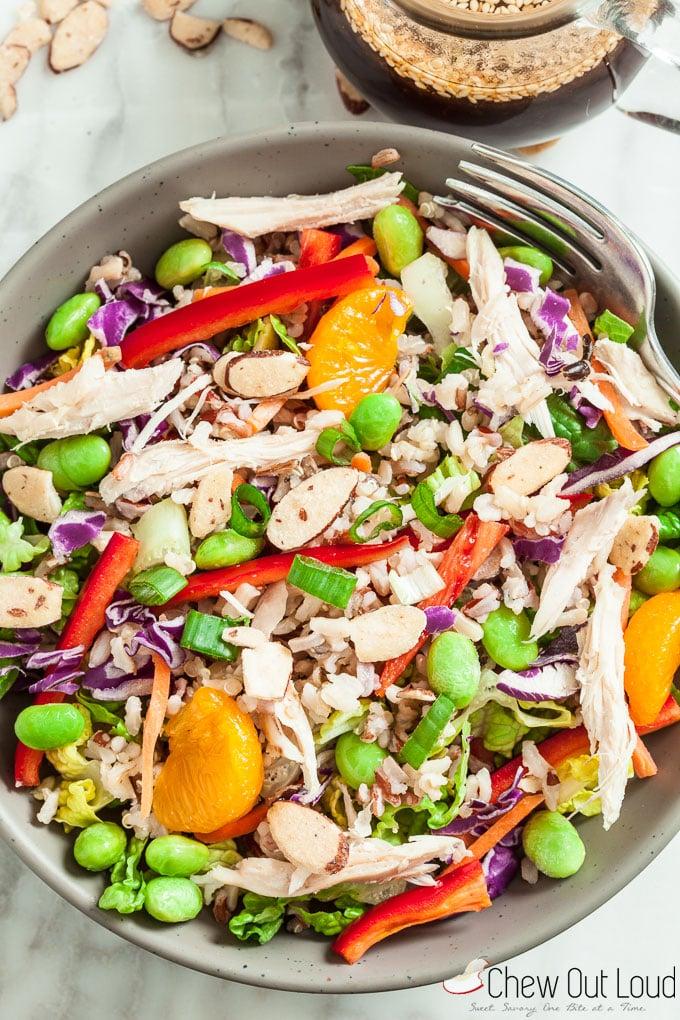 asian rice salad 3