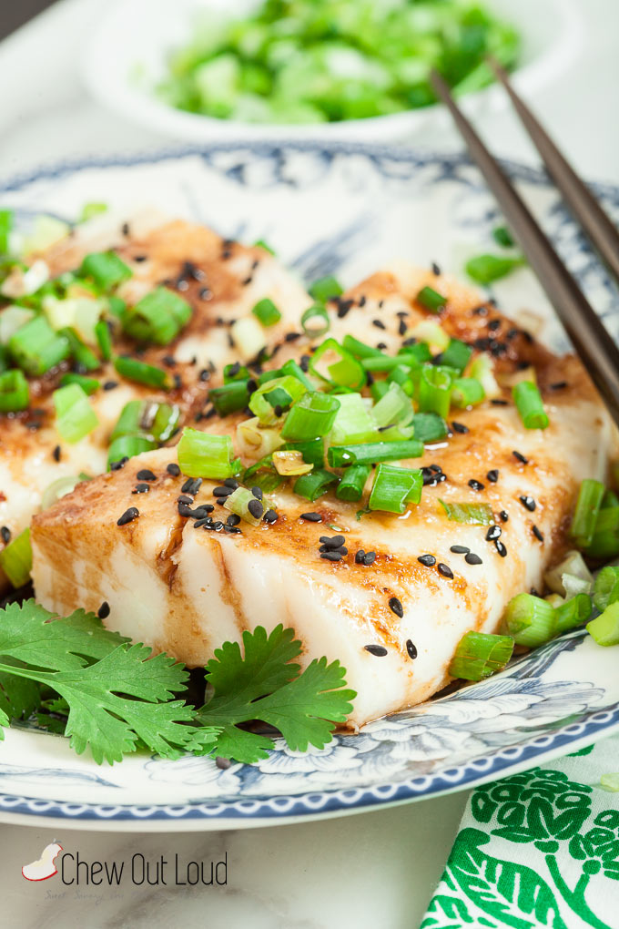 Ginger Soy Asian Steamed Fish